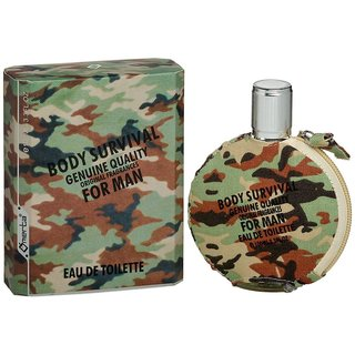 Body Survival Man - Omerta Parfume Eau de Toilette 100 ml Herrenparfüm EdT homme