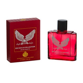 Big Eagle Collection Red Real Time Eau de Toilette 100 ml Herrenparfüm EdT homme