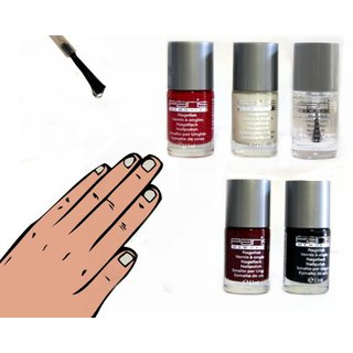 Nagellack Farblack 11 ml - Color Paris Memories rot/ violett 242