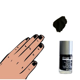 Nagellack Farblack 11 ml - Color Paris Memories schwarz