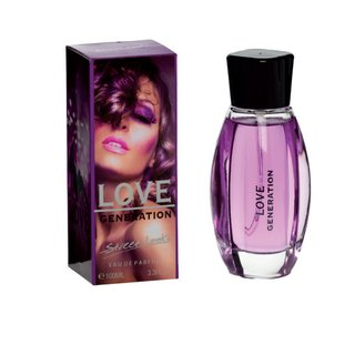 Love Generation - Streetlooks Eau de Parfüm 100 ml Damenparfüm EdP Parfume femme